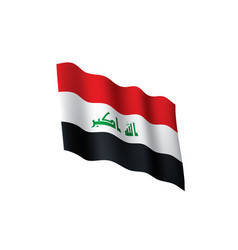 Iraqi flag vector