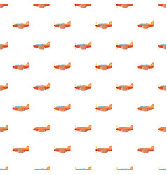 orange plane pattern vector image