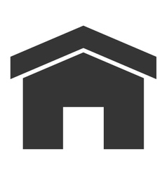 simple small house vector image vector image