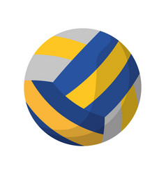 Volleyball ball sport icon vector