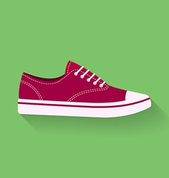 Icon of sneakers sport shoes footwear sign symbol vector