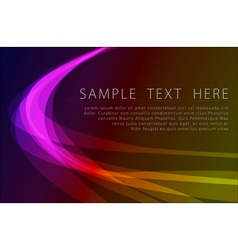 abstract powerful background vector image
