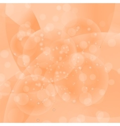 Circle orange light background vector