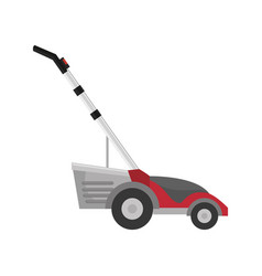 Grass cutter machine vector