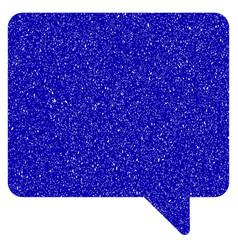 message icon grunge watermark vector image