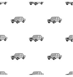 old carcar single icon in monochrome style vector image