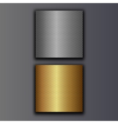 perforated plates vector image vector image