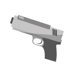 single gun icon image vector image