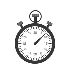 Chronometer time instrument icon graphic vector