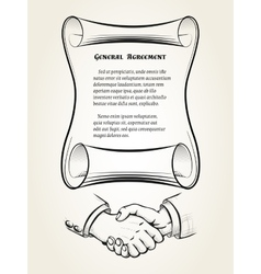 General agreement vector