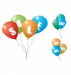 balloon sale vector image