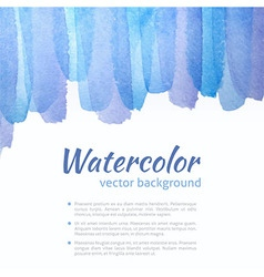 Watercolor blue and purple background vector