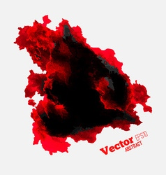 Red spot paint vector