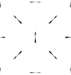 Scraper pattern seamless black vector