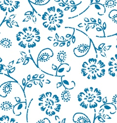 Grungy seamless pattern vector