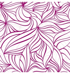 lovely decorative pattern vector image