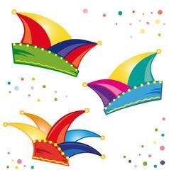 Carnival confetti vector