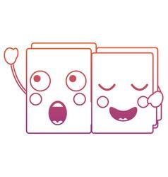 File folders kawaii icon image vector