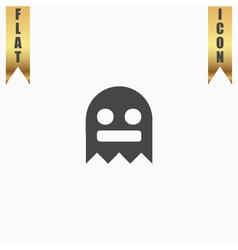 Kawaii cute ghost vector