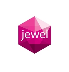 logo jewel vector image