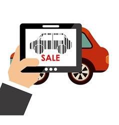 Sale vehicle vector