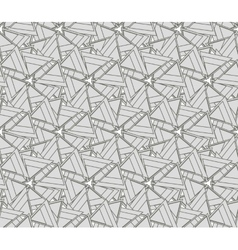 Monochrome texture with triangles vector