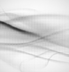 Grunge halftone background vector