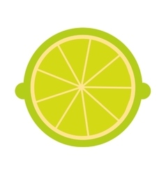 Citrus fruit isolated icon design vector