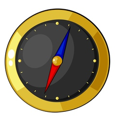 Cartoon compass eps10 vector image vector image