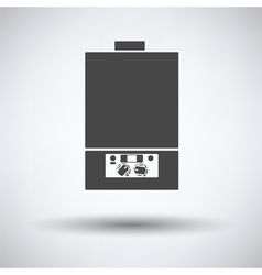 Gas boiler icon vector image
