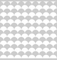 scale pattern seamless background vector image