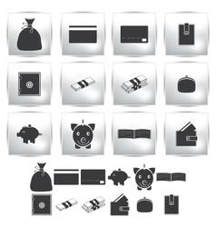 Collection web icon set pictogram vector