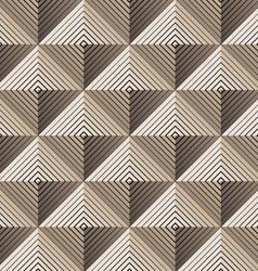 pyramidal seamless pattern vector image