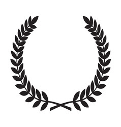 Laurel wreath icon1 resize vector