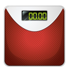 A weighing device vector image vector image