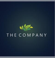 Leaf logo leaf ideas design vector