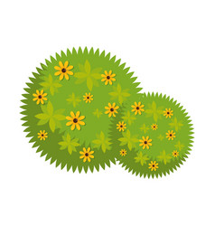 plant flower woods vector image vector image