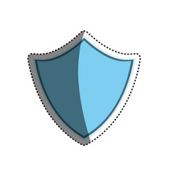 Shield security abstract crest vector