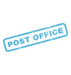 Post Office Rubber Stamp vector image