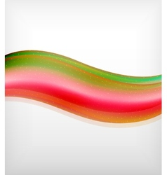Smooth colorful business elegant wave design vector