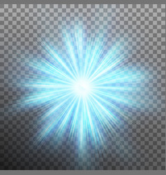 Abtract blue energy with a burst background eps vector