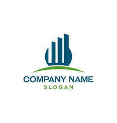 Financial logo 2 vector
