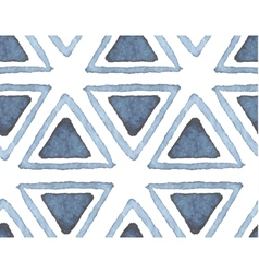 Hand drawn watercolor seamless pattern vector