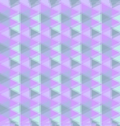 Abstract geometric background in purple tone vector
