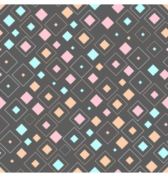 Abstract squares seamless background vector image vector image