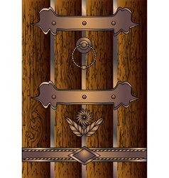 antique door vector image