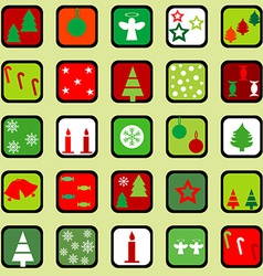 Wrapping paper for Christmas vector image