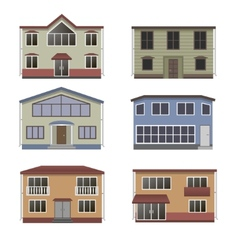 Home icon collection vector