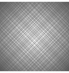 Monochrome seamless pattern with cross lines vector