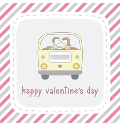 Happy valentine s day card11 vector